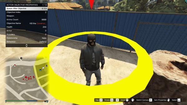 Mission Creator 0.4.1 для GTA 5