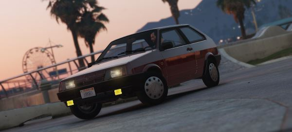 Lada Samara '89 [Add-On / Replace | Tuning] 1.1 для GTA 5