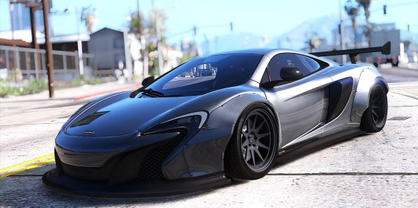 McLaren 650S Coupe Liberty Walk [HQ | Replace] 1.0a для GTA 5