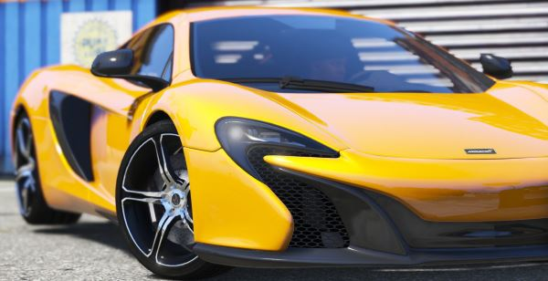 McLaren 650S Coupe [HQ | Replace] 3.5.2 для GTA 5