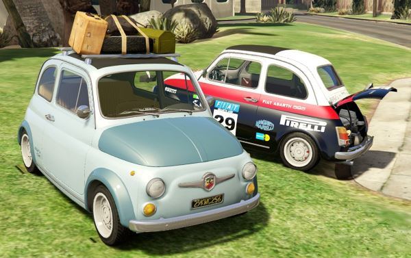 Fiat Abarth 595ss (2in1) [Add-On / Replace | Tuning | Livery] 1.4 для GTA 5