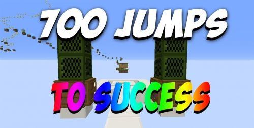 700 Jumps To Succses HD для Майнкрафт 1.11.2