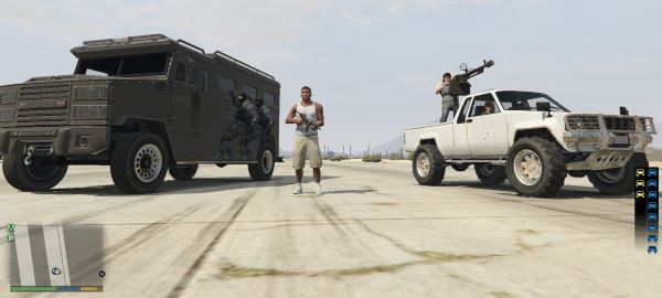 Bodyguard Squads для GTA 5