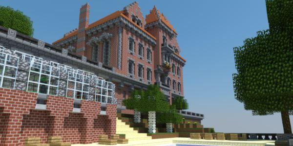 The Red Castle для Майнкрафт 1.11.2