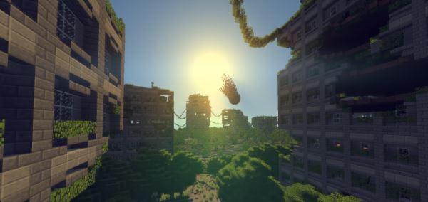 Apocalyptic City для Майнкрафт 1.11.2