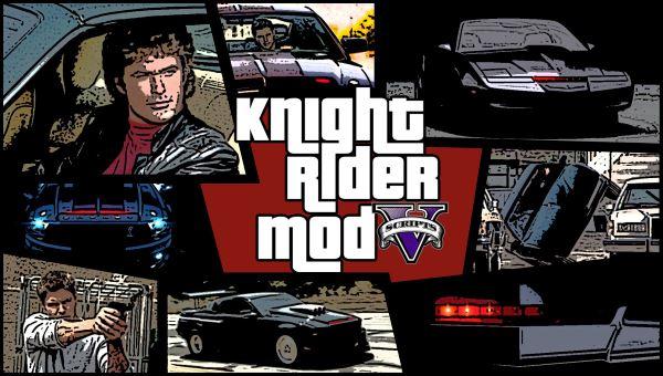 Knight Rider: K.I.T.T 3.0.3 для GTA 5