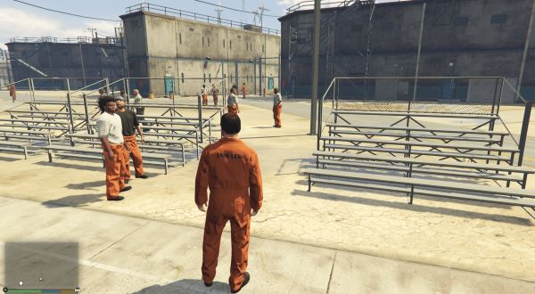 Prison Mod v 0.6 для GTA 5