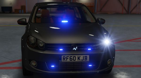 Volkswagen Golf Unmarked Greater Manchester Police [Replace | ELS] для GTA 5