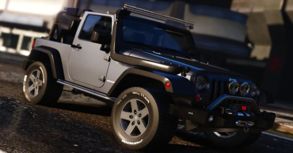 Jeep Wrangler [Add-On HQ] для GTA 5