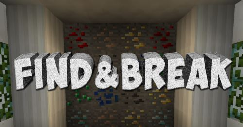 find&break для Майнкрафт 1.10.2