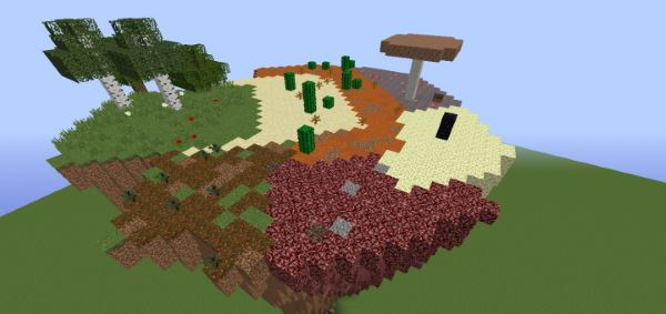 Terrain Crystals для Майнкрафт 1.11.2