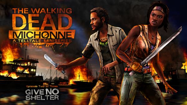 Сохранение для The Walking Dead: Michonne - Episode 2: Give No Shelter (100%)