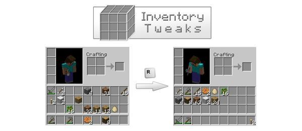 Inventory Tweaks для Майнкрафт 1.11.2