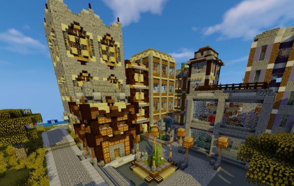 Valcour City для Майнкрафт 1.11.2