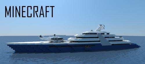 Modern Mega Yacht для Майнкрафт 1.11.2