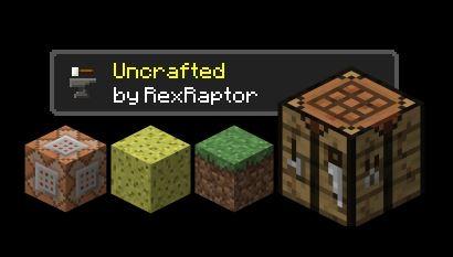 Uncrafted для Майнкрафт 1.11.2