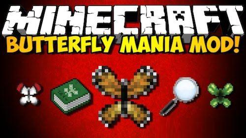 Butterfly Mania для Майнкрафт 1.8.9