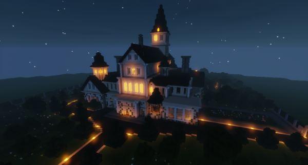 Cluedo Tudor Mansion для Майнкрафт 1.11.2