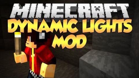 Dynamic Lights для Майнкрафт 1.11.2