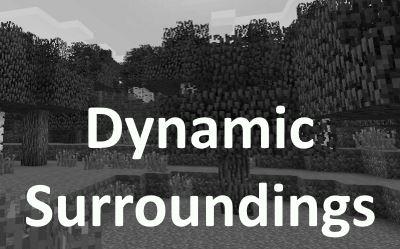 Dynamic Surroundings для Майнкрафт 1.11.2