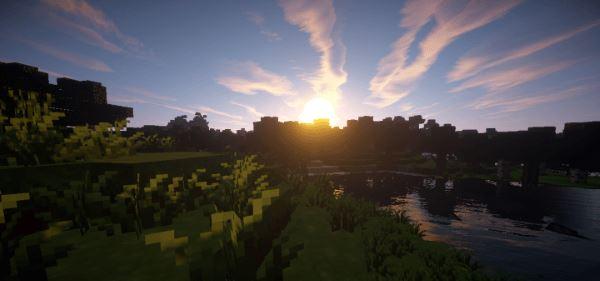 Oak Shadows для Майнкрафт 1.11.2