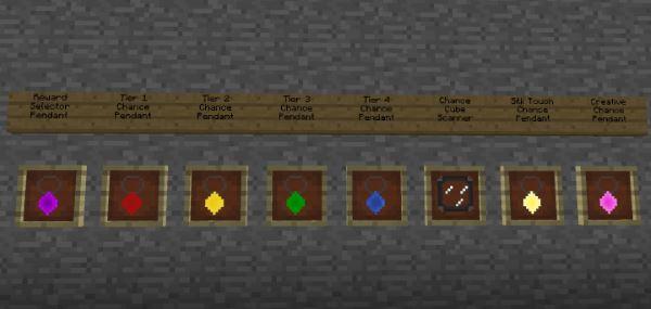 Chance Cubes для Майнкрафт 1.11.2