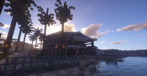 Aventurine Villa для Майнкрафт 1.11.2