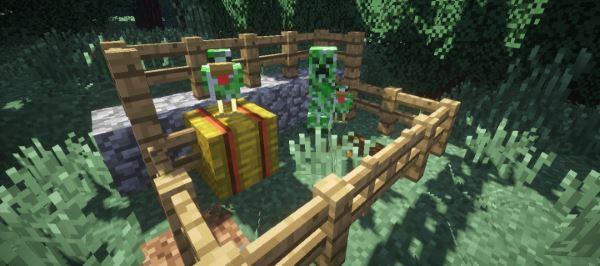 Creeper Chickens для Майнкрафт 1.11.2