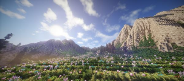Mountain Valley Meadow для Майнкрафт 1.11.2