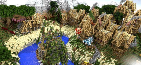 Medieval Village для Майнкрафт 1.11.2