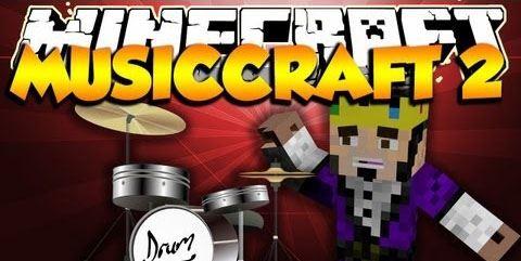 MusicCraft для Майнкрафт 1.10.2