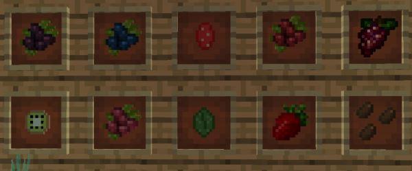 HarvestCraft для Майнкрафт 1.11.2