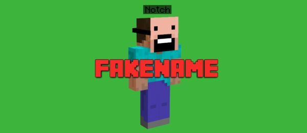 Fakename для Майнкрафт 1.10.2