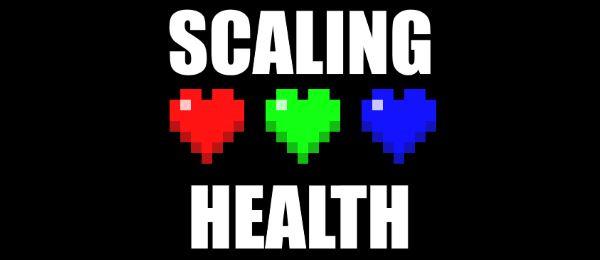 Scaling Health для Майнкрафт 1.11.2