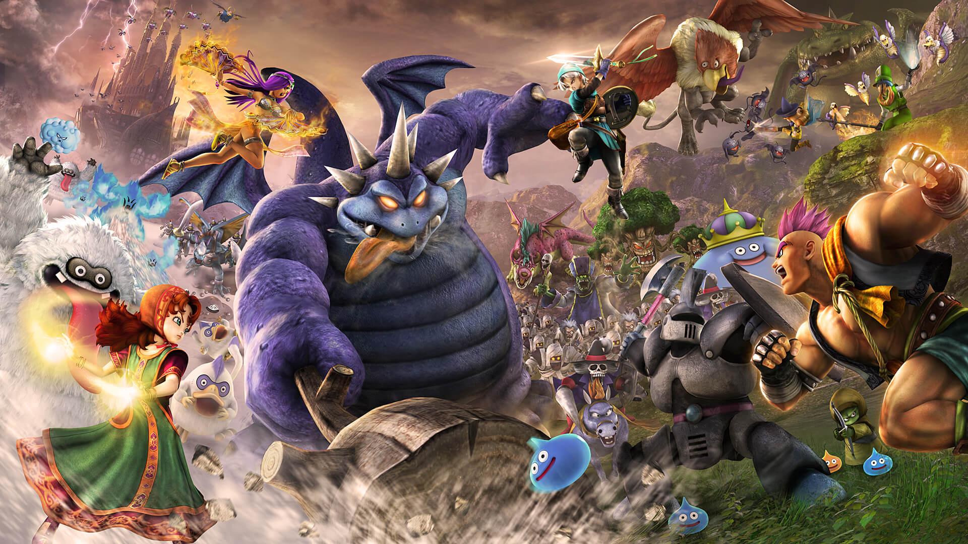 Русификатор для Dragon Quest Heroes II