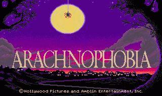Сохранение для Arachnophobia (100%)