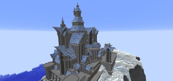 Fryst Fortress для Майнкрафт 1.11.2