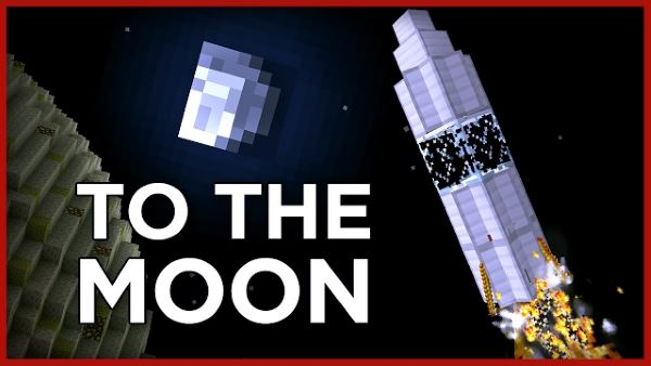 Go to the Moon для Майнкрафт 1.11.2