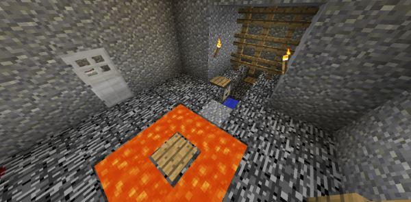 Roomscape: Underground для Майнкрафт 1.11.2