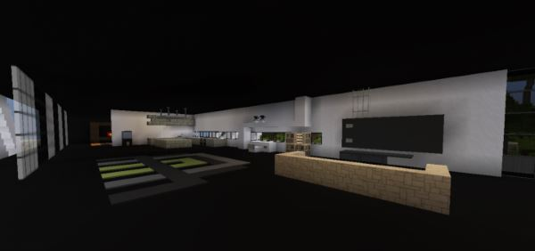 Modern House 23 для Майнкрафт 1.11.2