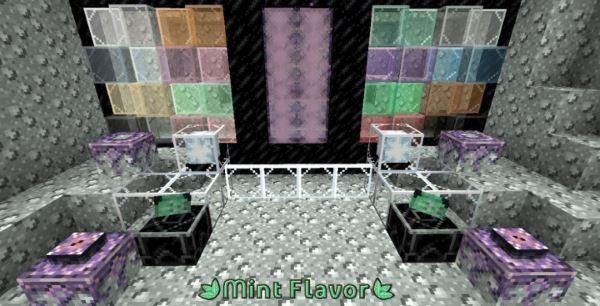 Alvoria's Mint Flavor для Майнкрафт 1.11.2