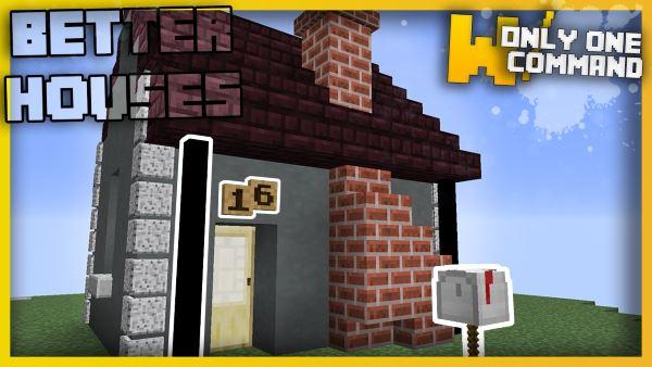 Better House Details для Майнкрафт 1.11.2