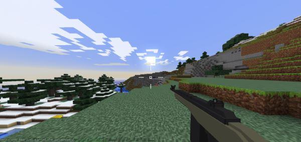 Vic's Modern Warfare для Майнкрафт 1.10.2