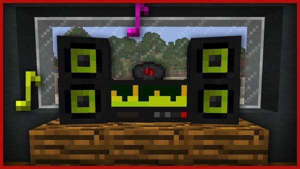 Stereo для Майнкрафт 1.11.2