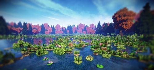 The Indian Summer для Майнкрафт 1.11.2