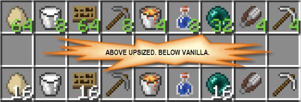 Upsizer для Майнкрафт 1.11.2