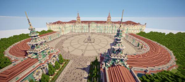 Winter Palace для Майнкрафт 1.11.2