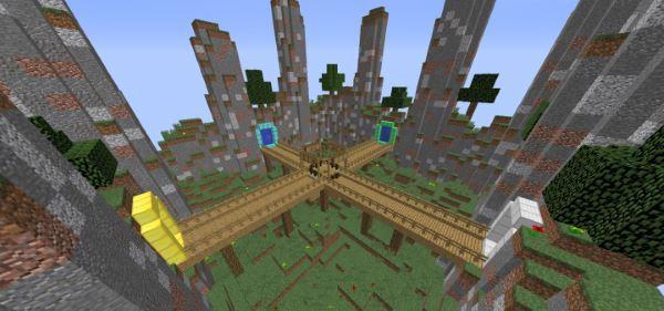 The 4 Walls для Майнкрафт 1.11.2