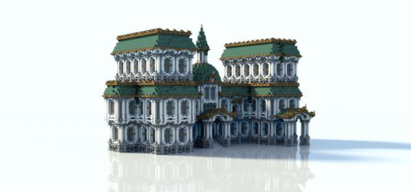 Baroque-Building для Майнкрафт 1.11.2