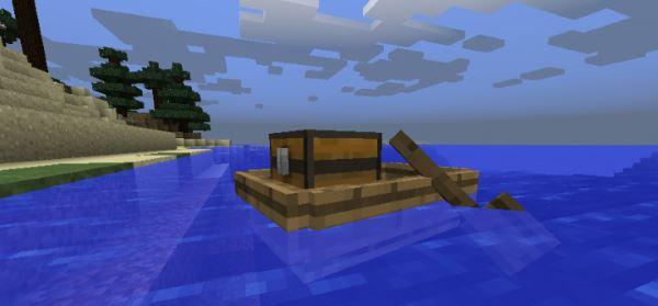 Storage Boats для Майнкрафт 1.11.2